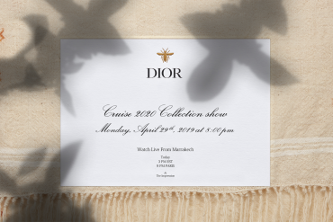 Watch Dior Cruise 2020 Runway Show Live from Marrakech