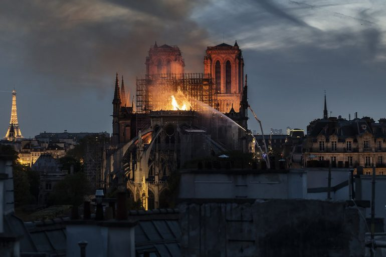 LVMH, Kering, & L'Oreal Pledge +€500 Million to Restore Notre Dame