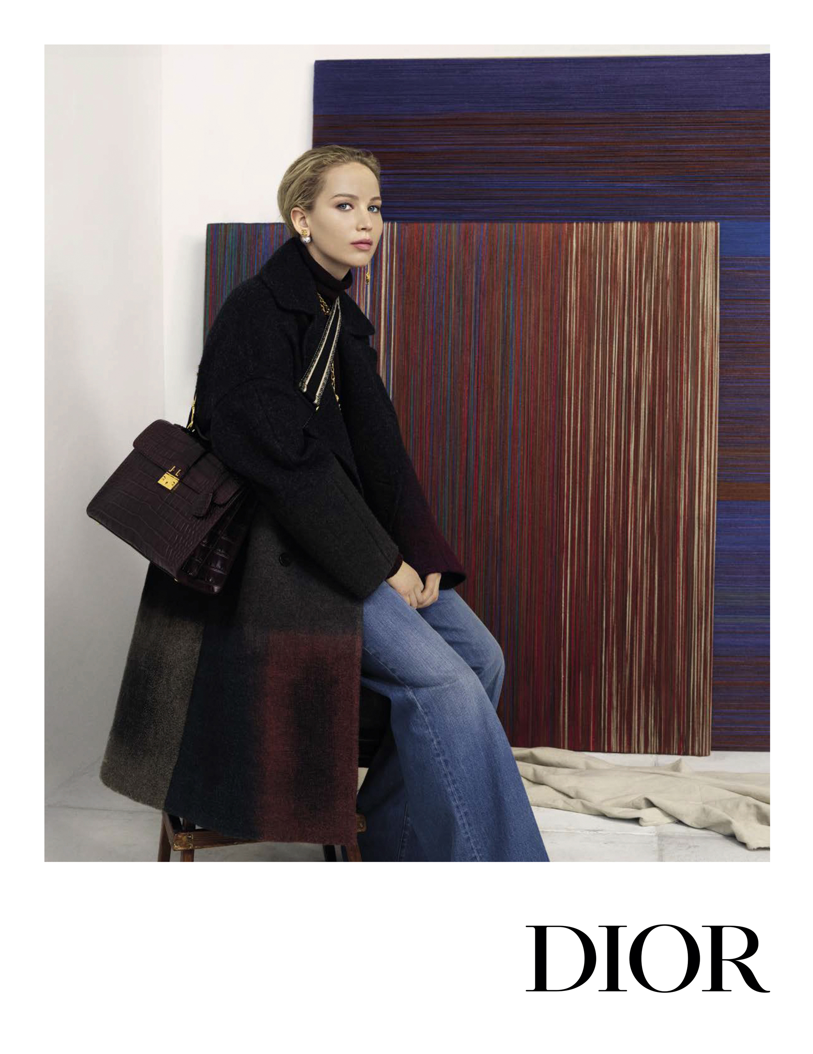 Dior Pre-Fall 2019 Ad Campaign with Jennifer Lawrence