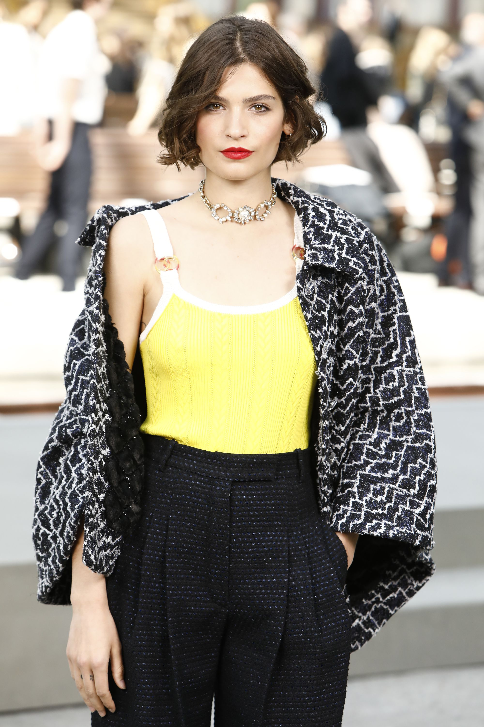 10605974ab89 Chanel Cruise 2020 Fashion Show Front Row | The Impression