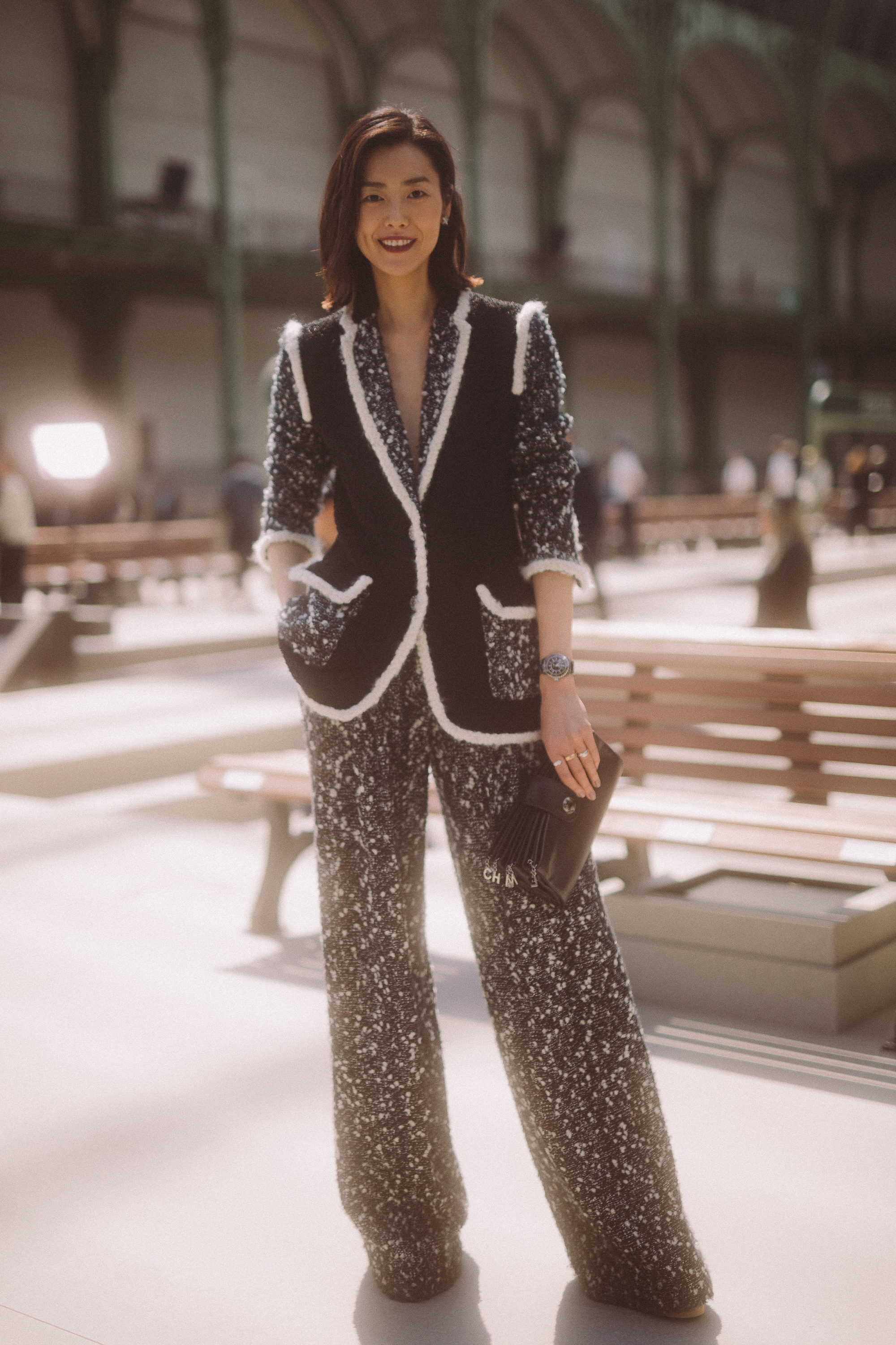 Chanel Cruise 2020 Fashion Show Front Row