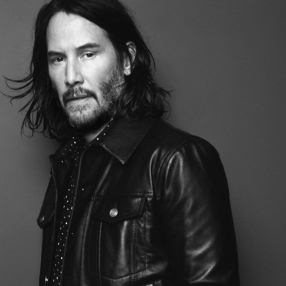 Saint Laurent Fall 2019 Ad Campaign with Keanu Reeves