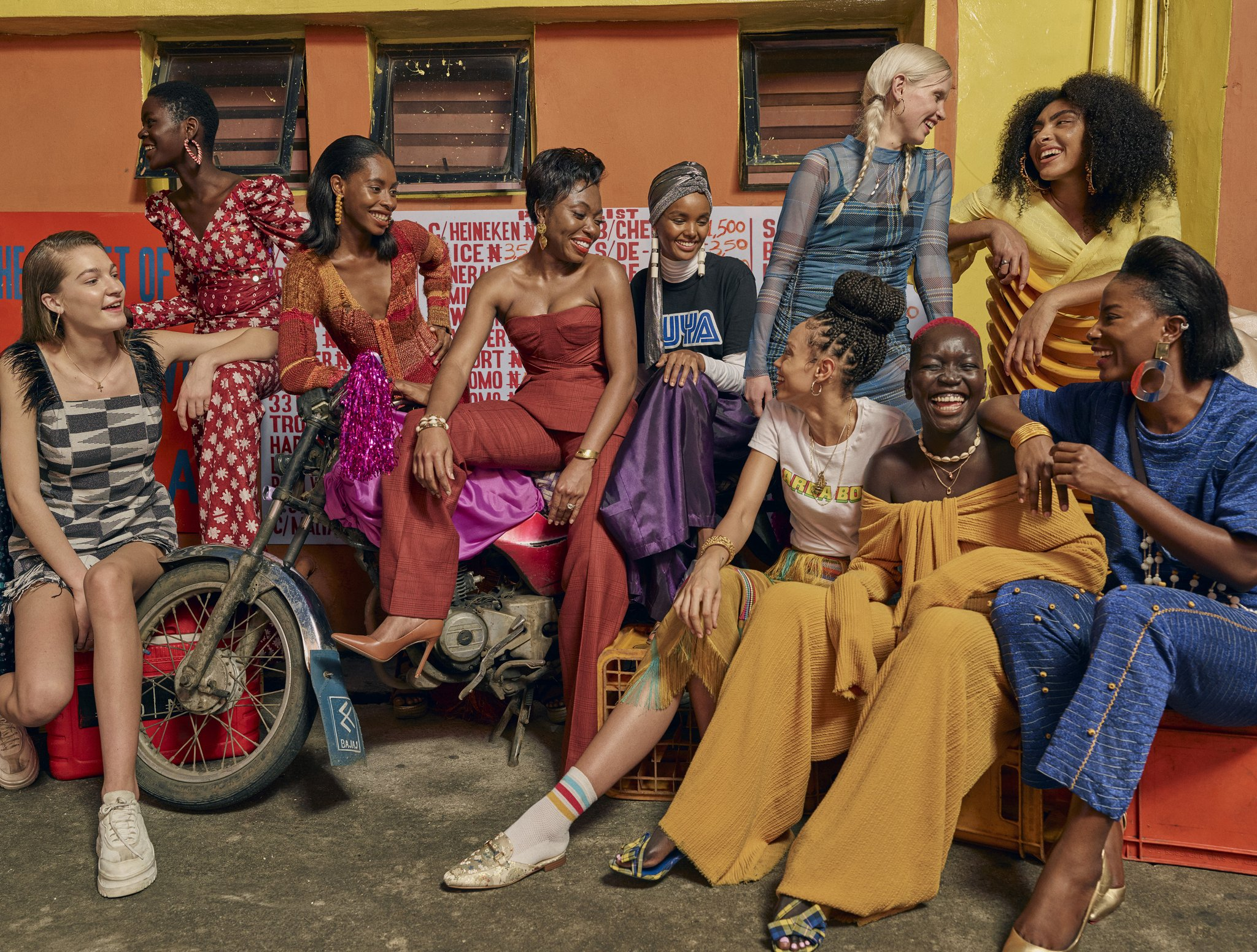 Uoma Beauty Spring 2019 Ad Campaign by Sprign Studios