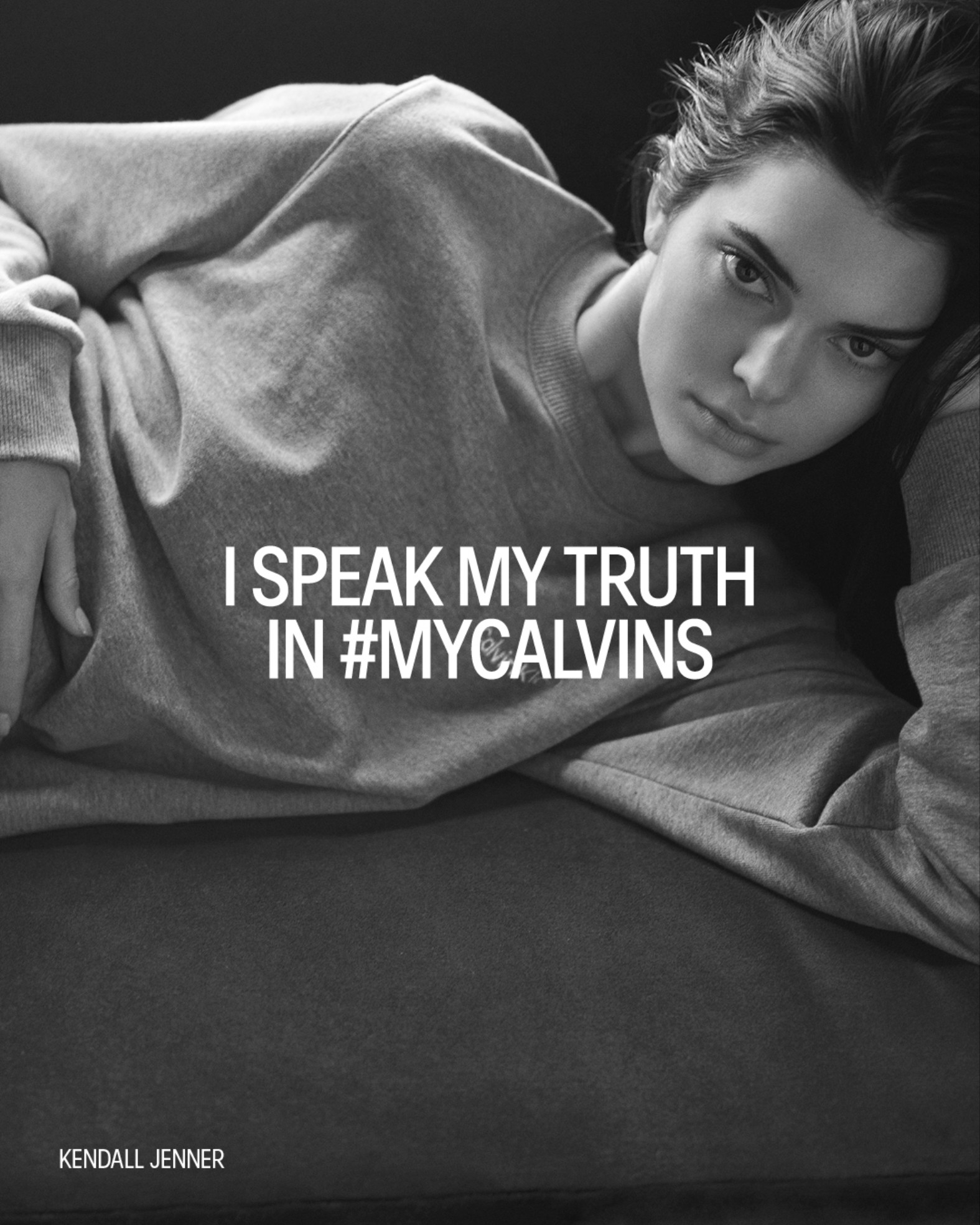 Real & Virtual Collide in Bella Hadid & Kendall Jenner's 'I Speak My Truth' Calvin Klein ad campaign