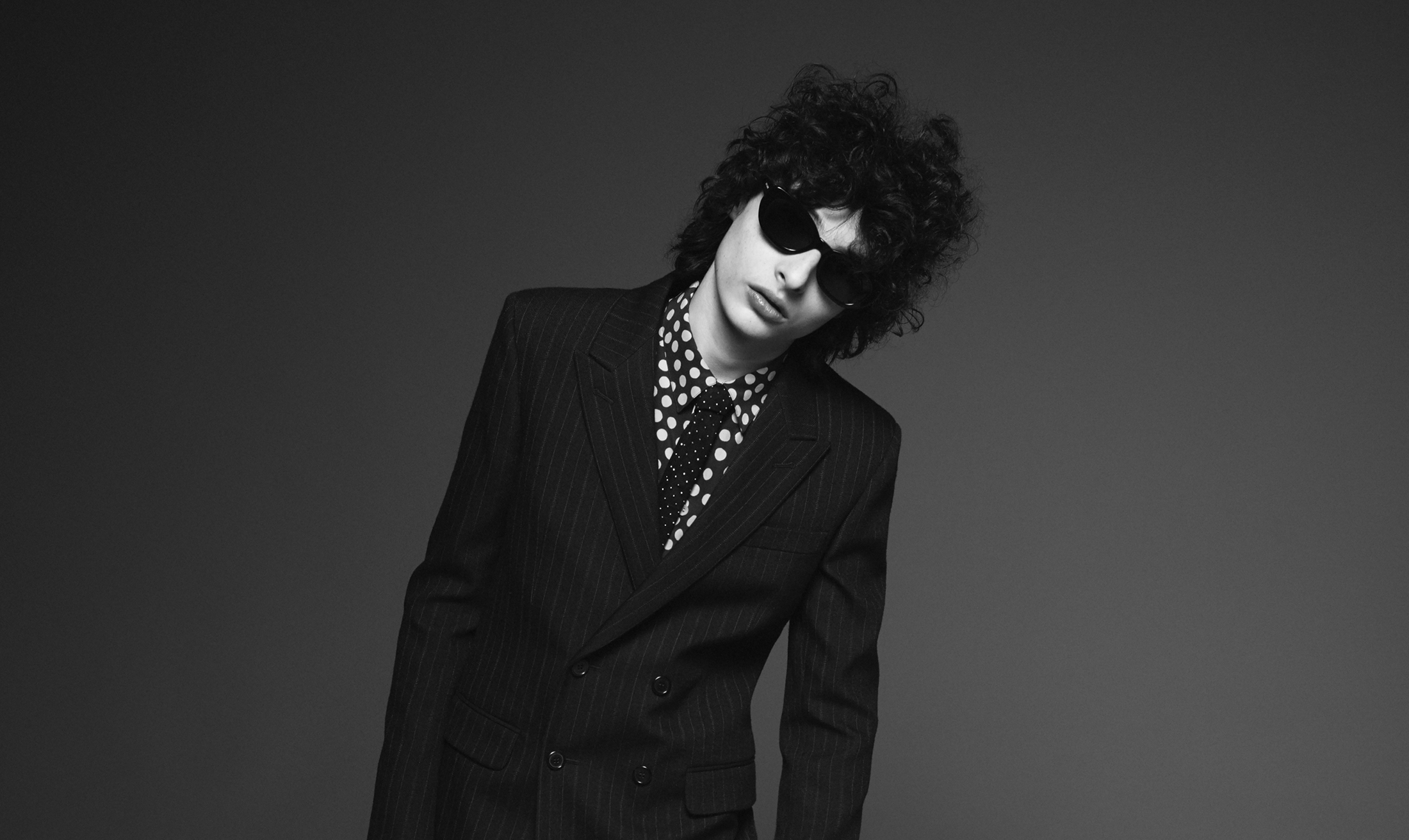 Saint Laurent Fall 2019 Ad Campaign with Finn Wolfhard