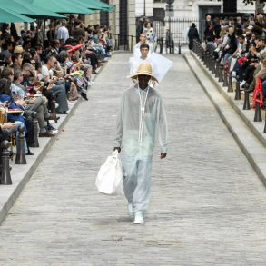 Men's Fabrications - Sheer & Satin Spring 2020 Menswear Fashion Trend