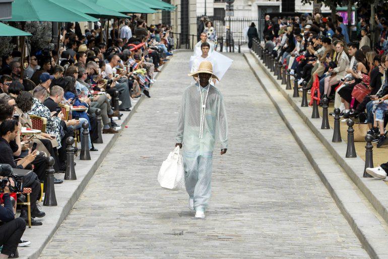 Men's Fabrications - Sheer & Satin Spring 2020 Menswear Fashion Trend