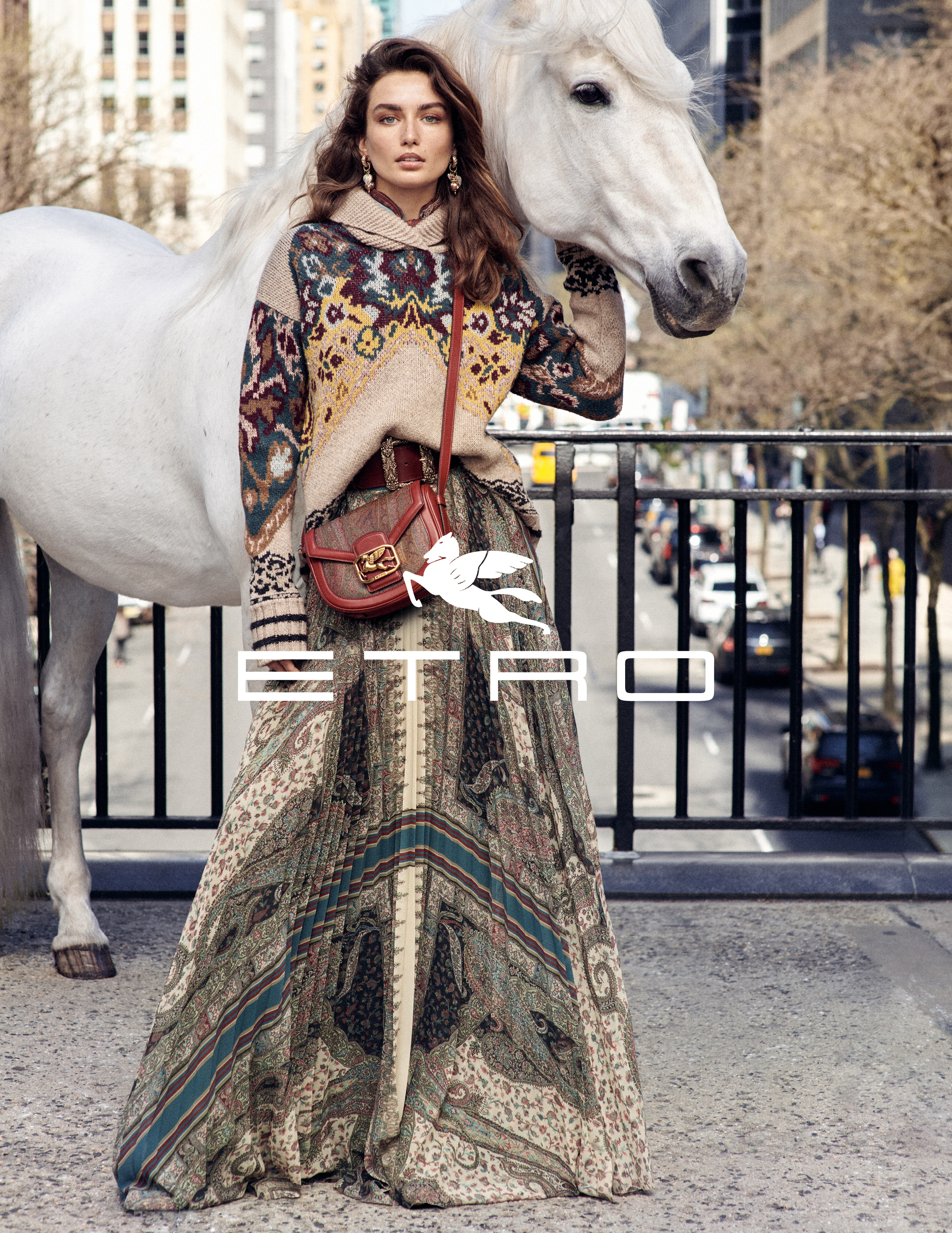 Etro Fall 2019 Ad Campaign By Cass Bird and Macs Iotti