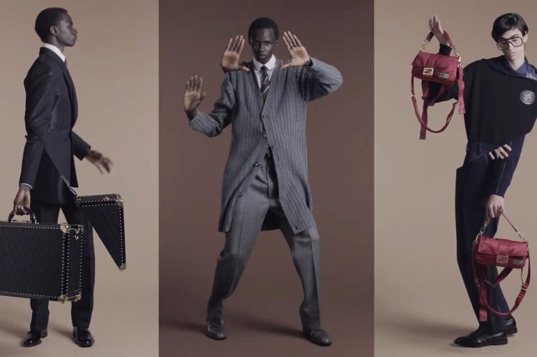 Fendi Fall 2019 Ad Campaign by Nico Vascellari