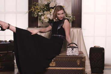 Louis Vuitton Capucines Summer 2019 Ad Campaign with Karlie Kloss