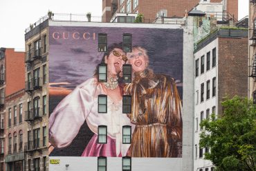 Gucci Artwall Pre-Fall 2019 Ad Campaign