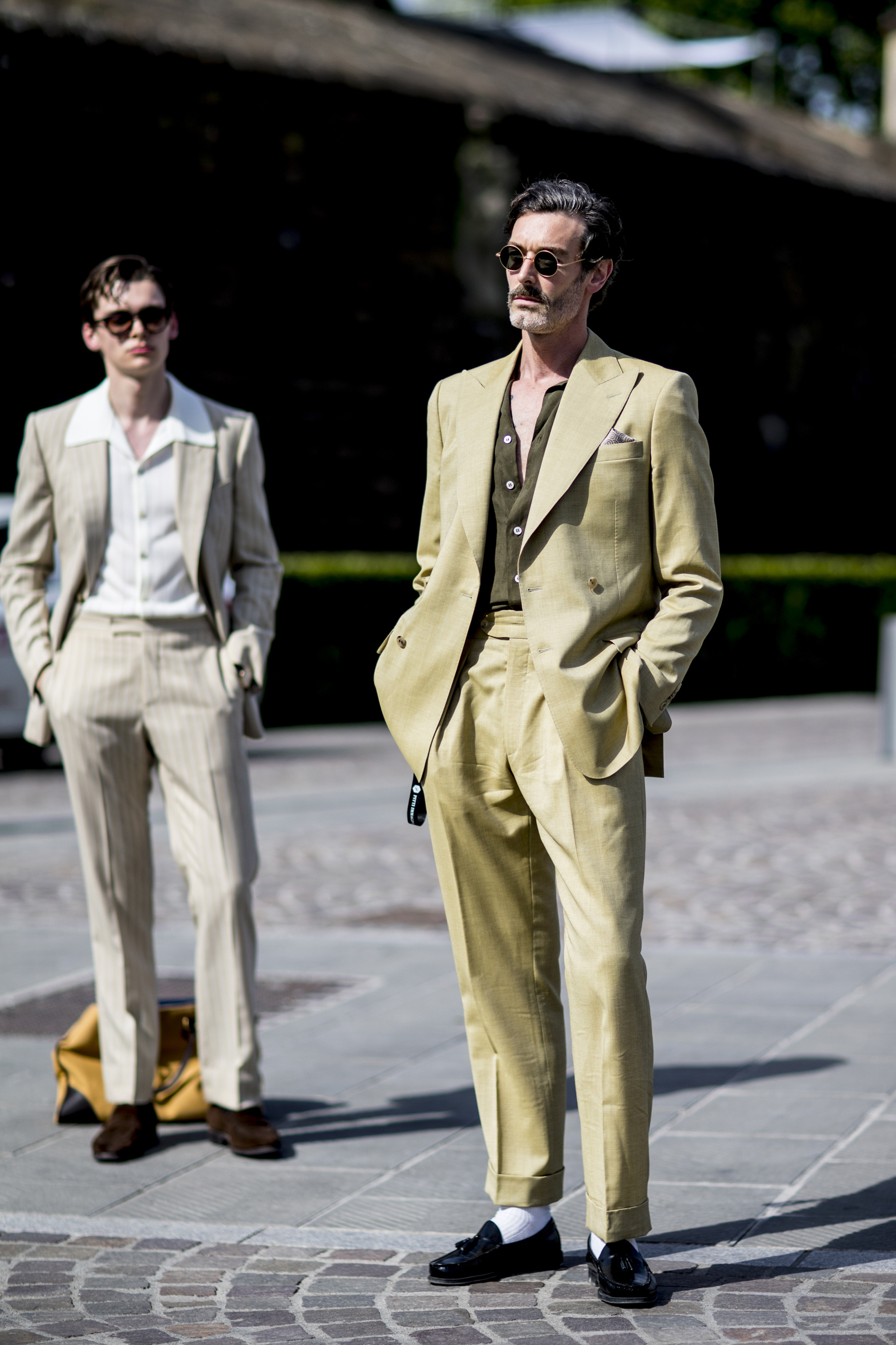Pitti Uomo Men's Street Style Spring 2020 More of Day 1