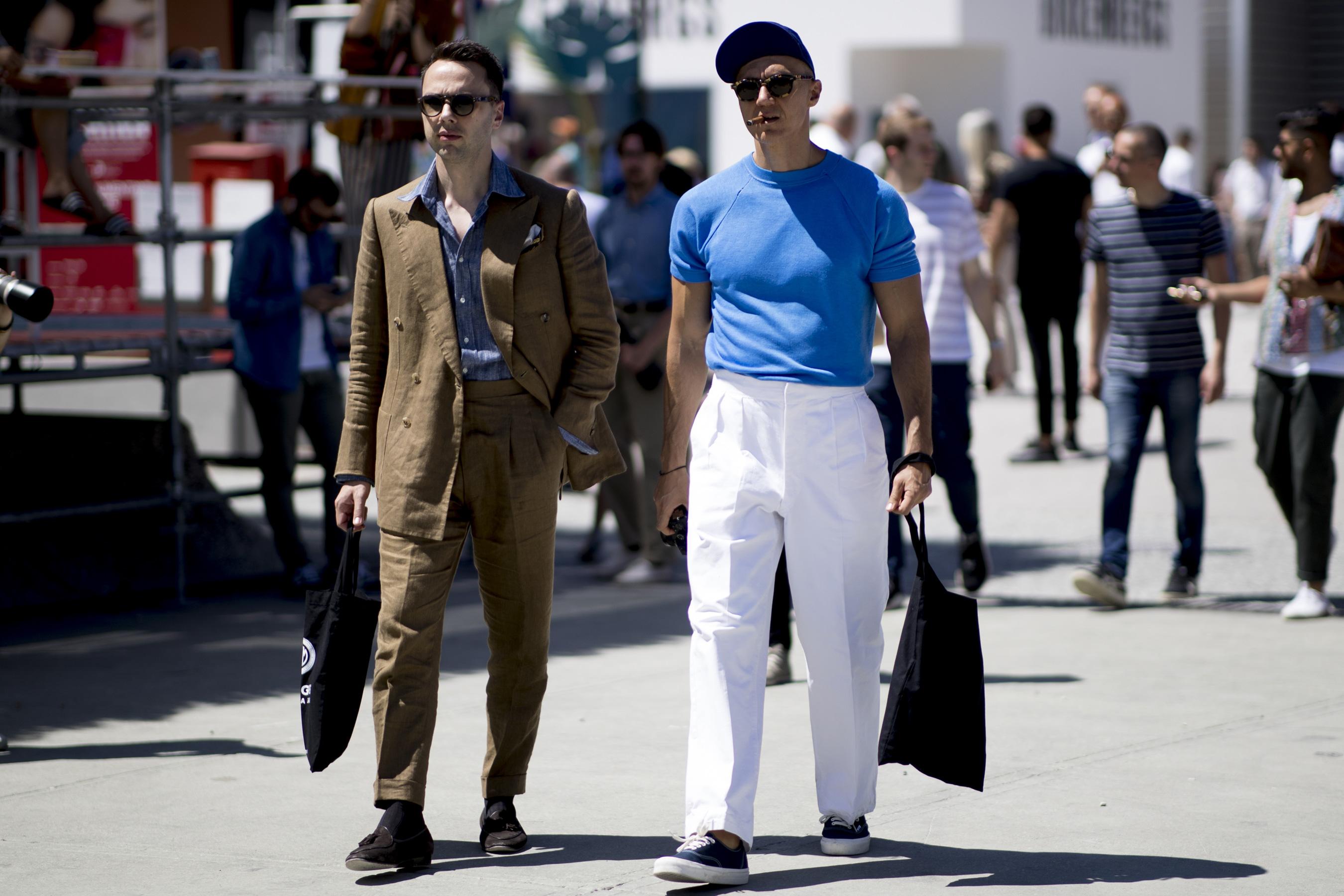 Pitti Uomo Men's Street Style Spring 2020 Day