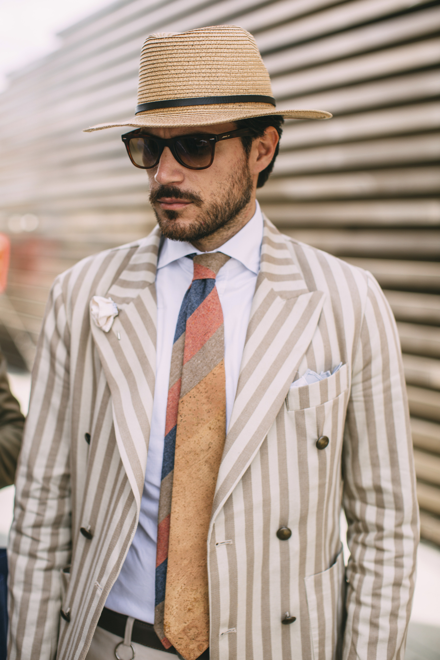 Pitti Uomo Men's Street Style Spring 2020 Day 1