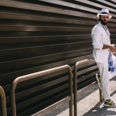 Pitti Uomo Men's Street Style Spring 2020 Day 1