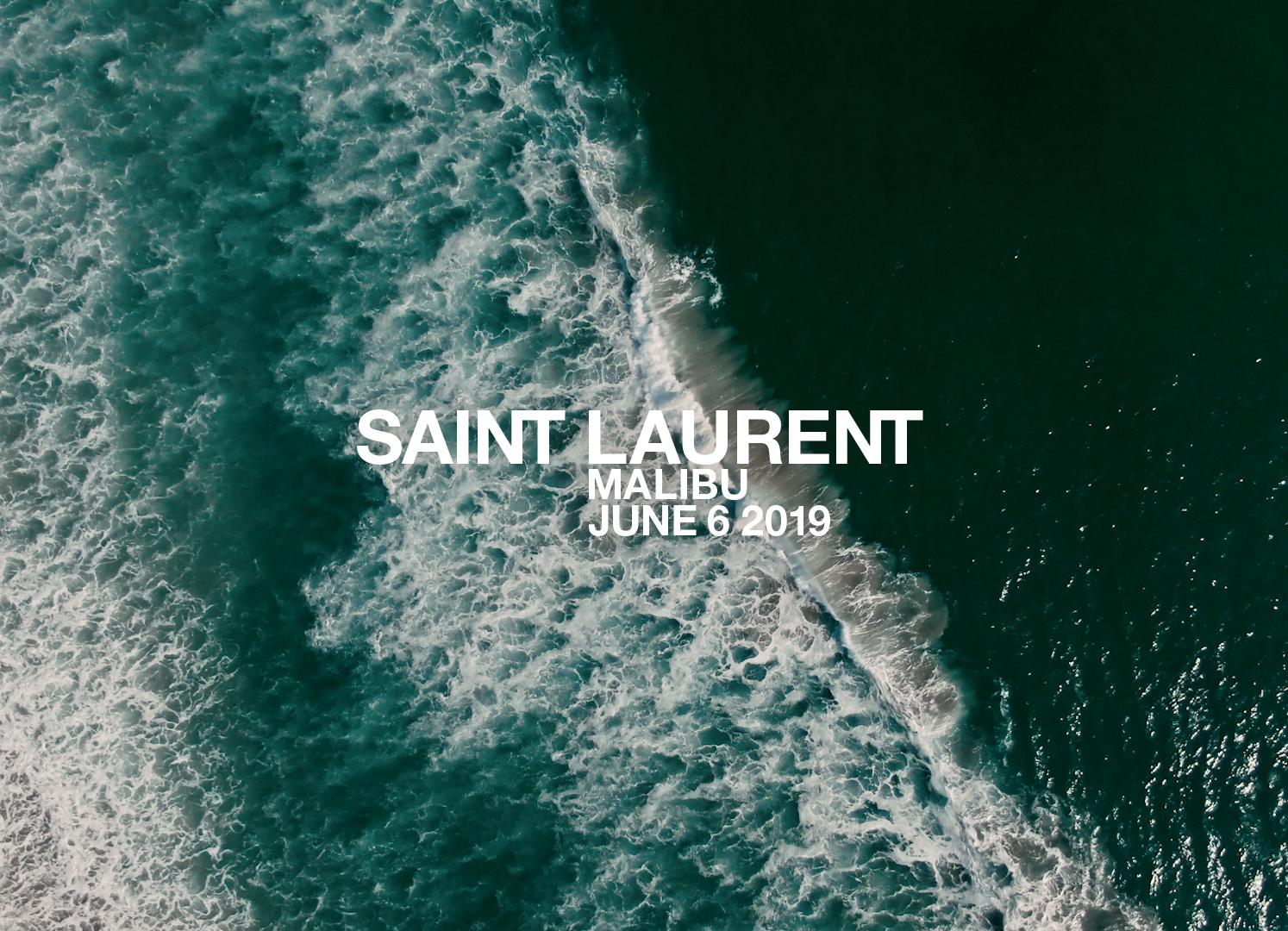 Watch Saint Laurent Men's Spring 2020 Runway Show Live from LA
