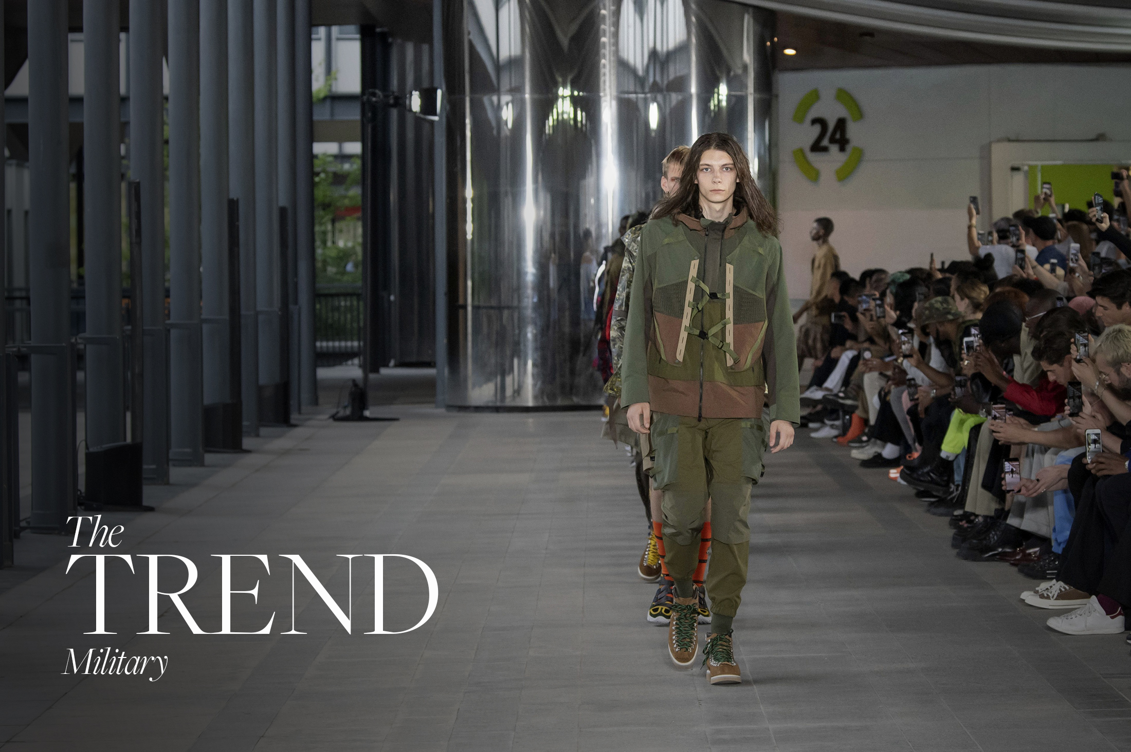 MILITARY SPRING 2020 MENSWEAR TREND