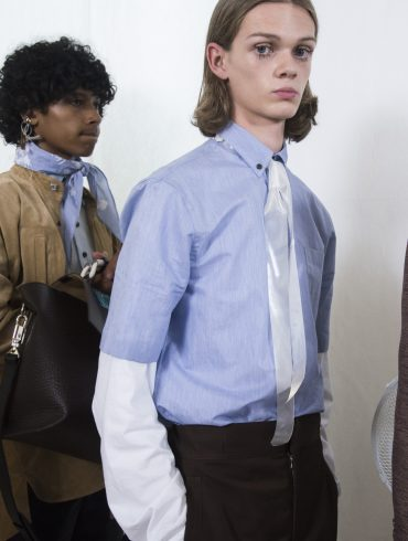Acne Studios Spring 2020 Men's Fashion Show Backstage