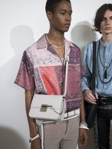 Amiri Spring 2020 Men's Fashion Show Backstage