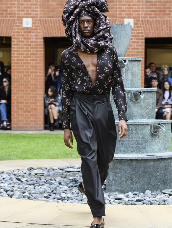 Edward Crutchley Spring 2020 Men's Fashion Show