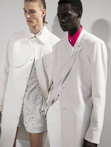 Dior Homme Spring 2020 Men's Fashion Show Backstage
