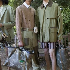 Fendi Spring 2020 Men's Fashion Show Backstage