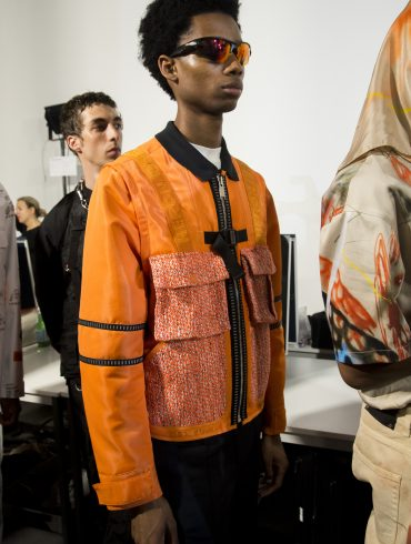 Heron Preston Spring 2020 Men's Fashion Show Backstage