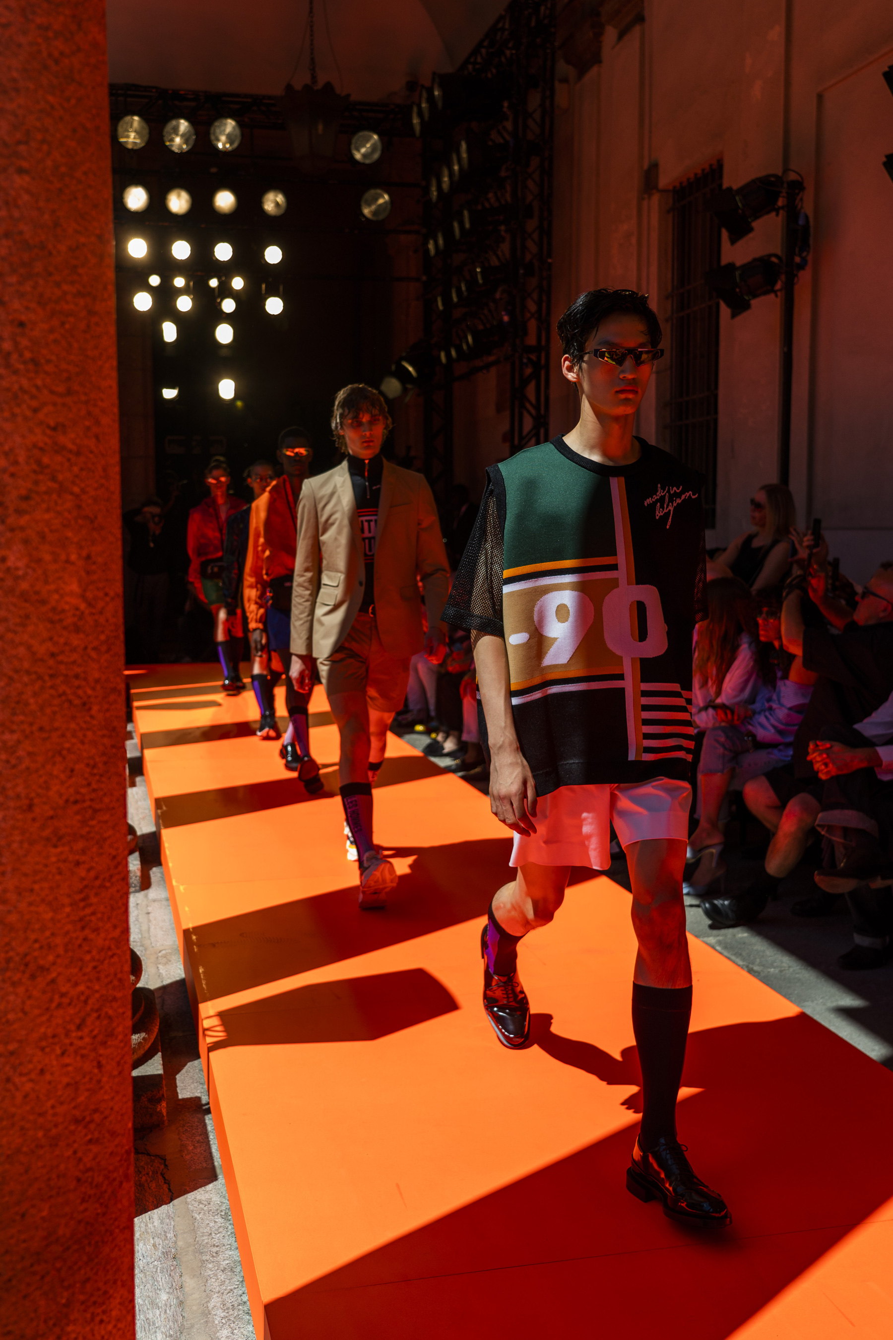 Les Hommes Spring 2020 Men's Fashion Show Atmosphere