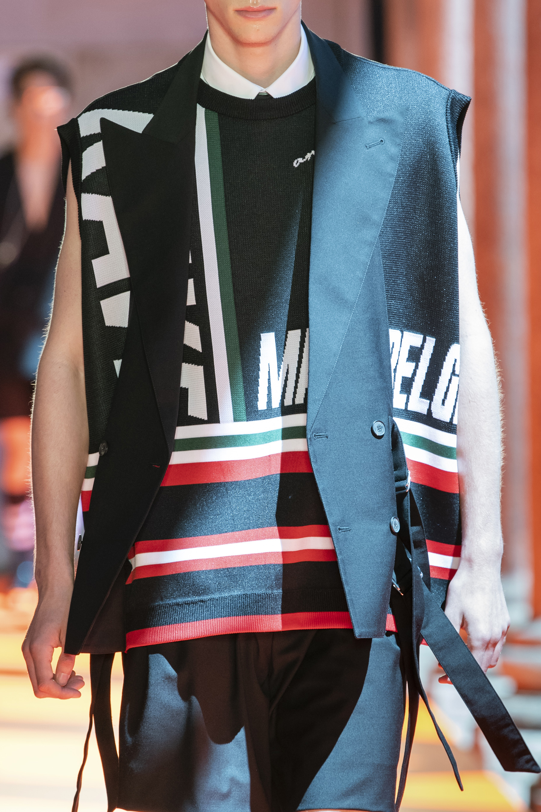 Les Hommes Spring 2020 Men's Fashion Show Details