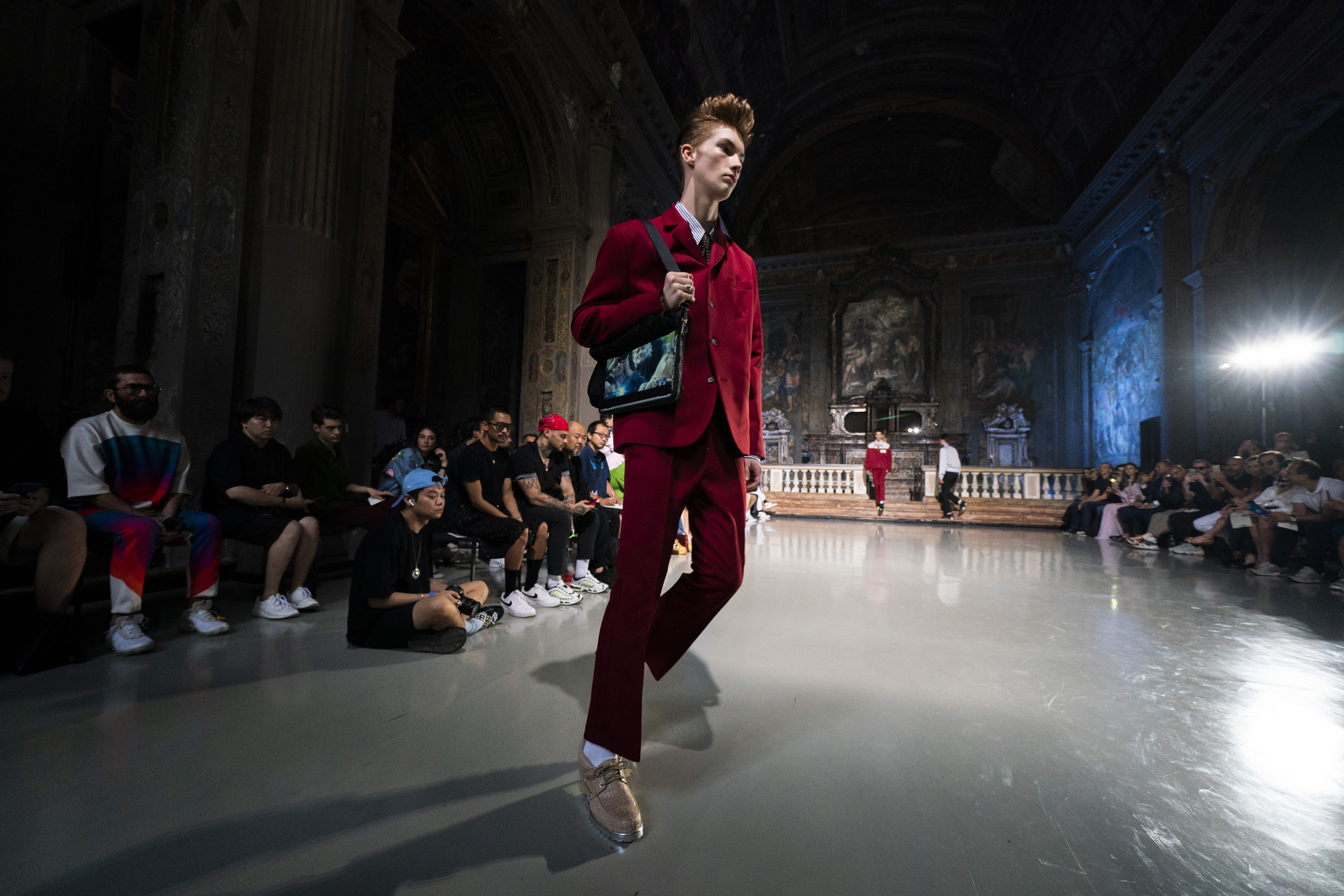 M1992 Spring 2020 Men's Fashion Show Atmosphere