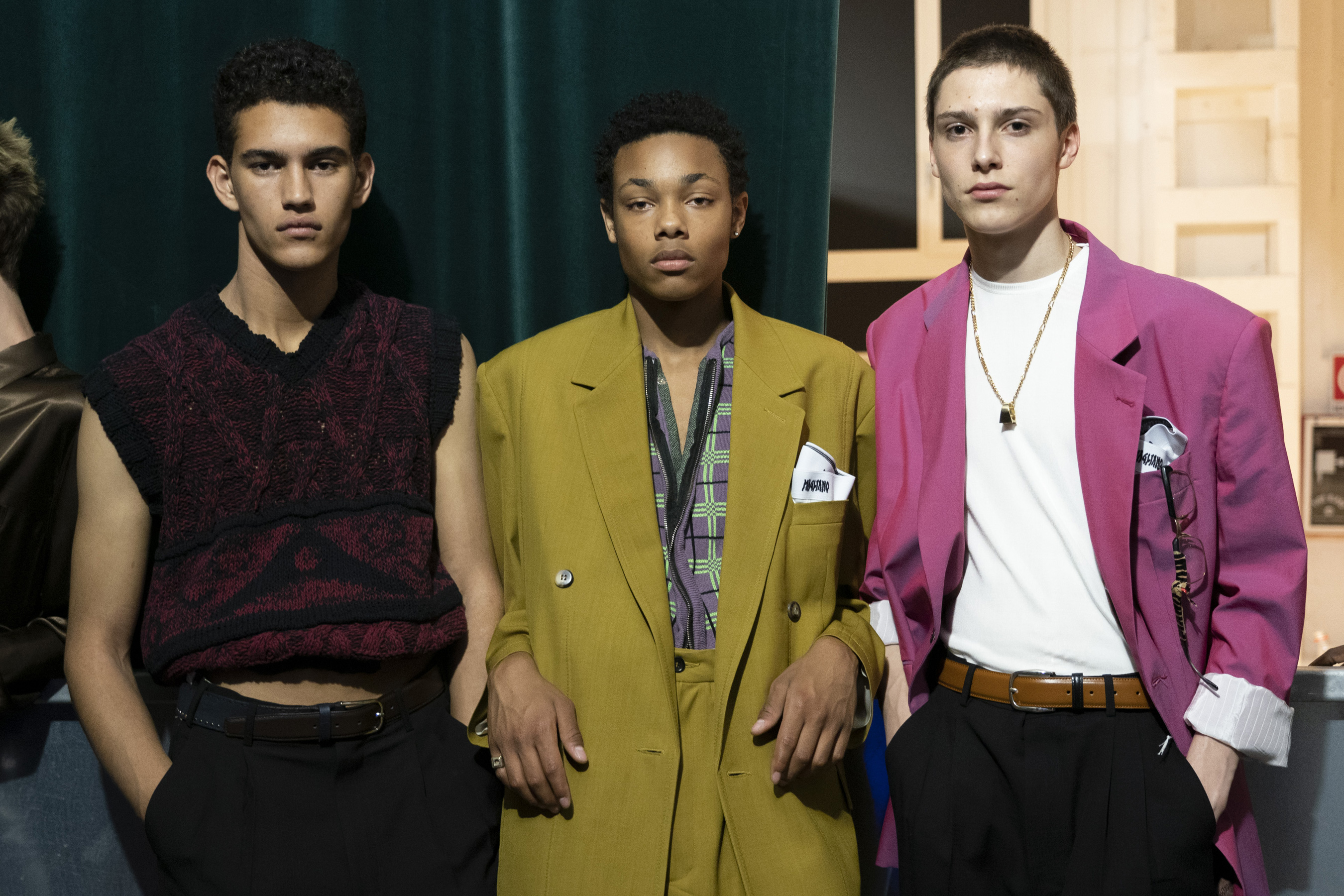 Magliano Spring 2020 Men's Fashion Show Backstage