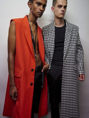 Ami Alexandre Mattiussi Spring 2020 Men's Fashion Show Backstage