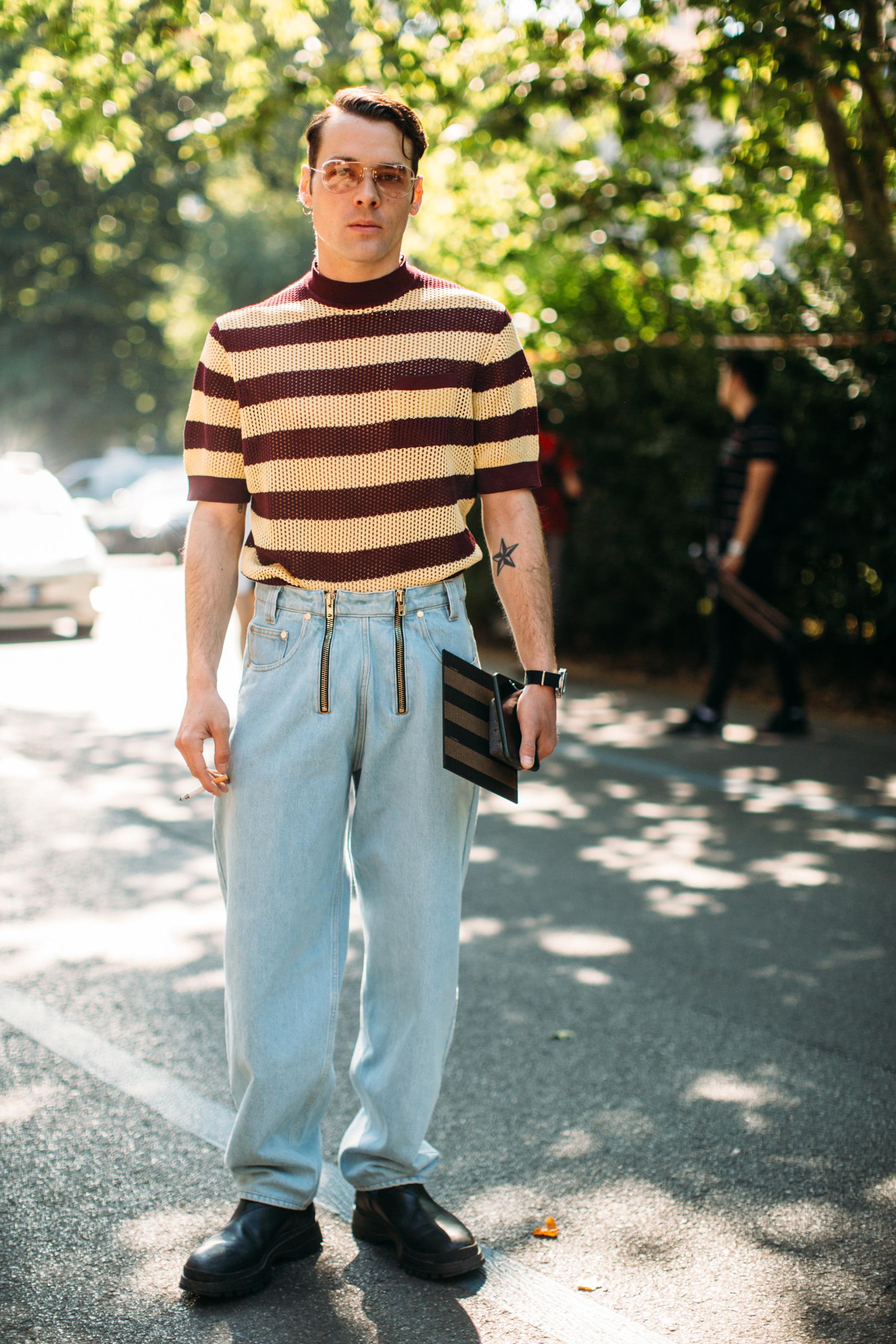 Milan Men's Street Style Spring 2020 Day