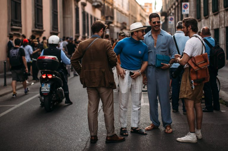 Milan Men's Street Style Spring 2020 Day
