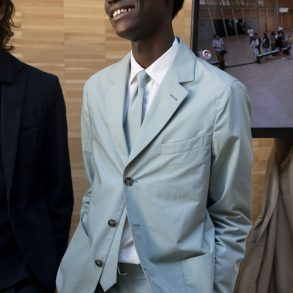 Officine Generale Spring 2020 Men's Fashion Show Backstage