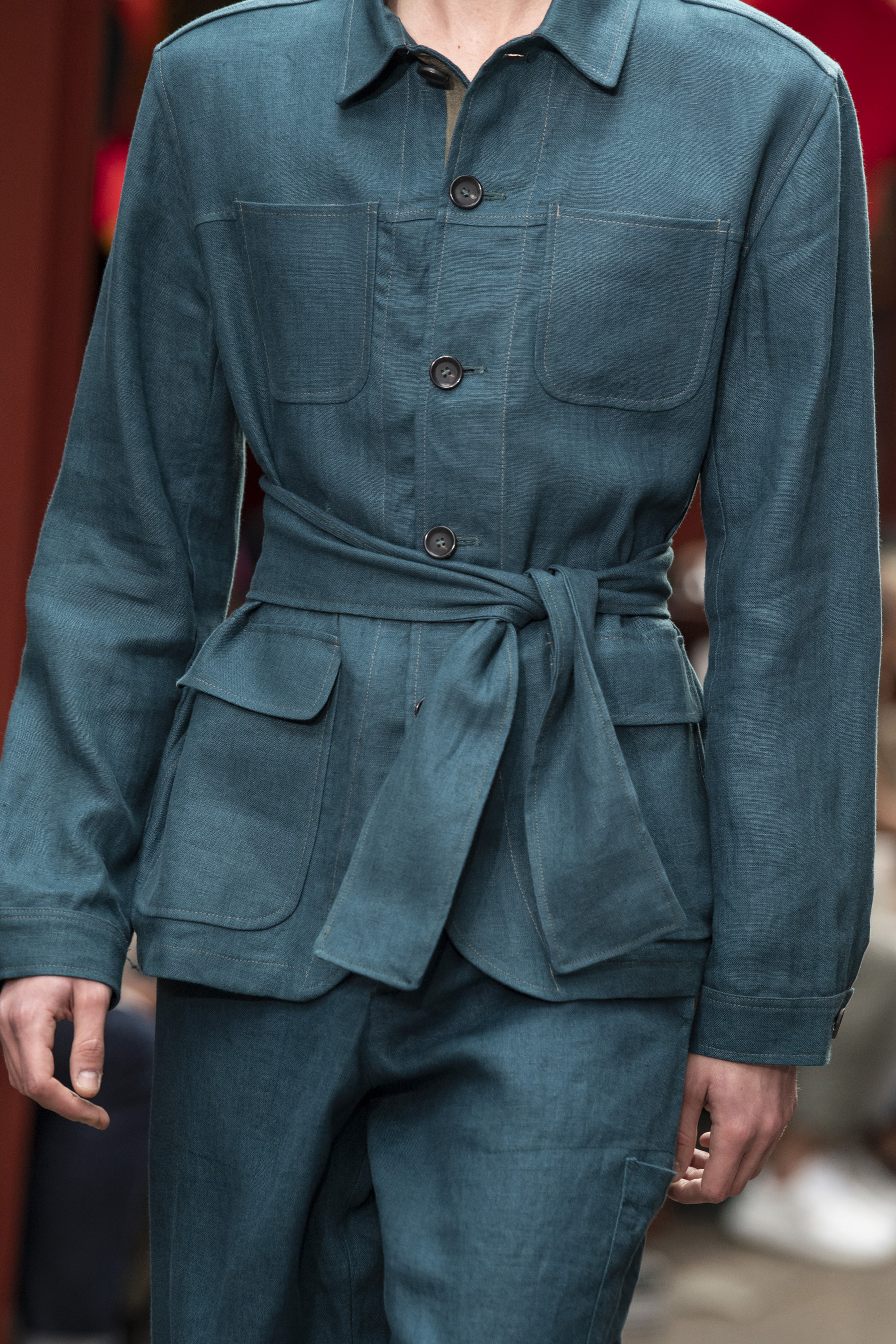 Oliver Spencer Spring 2020 Men's Fashion Show Details