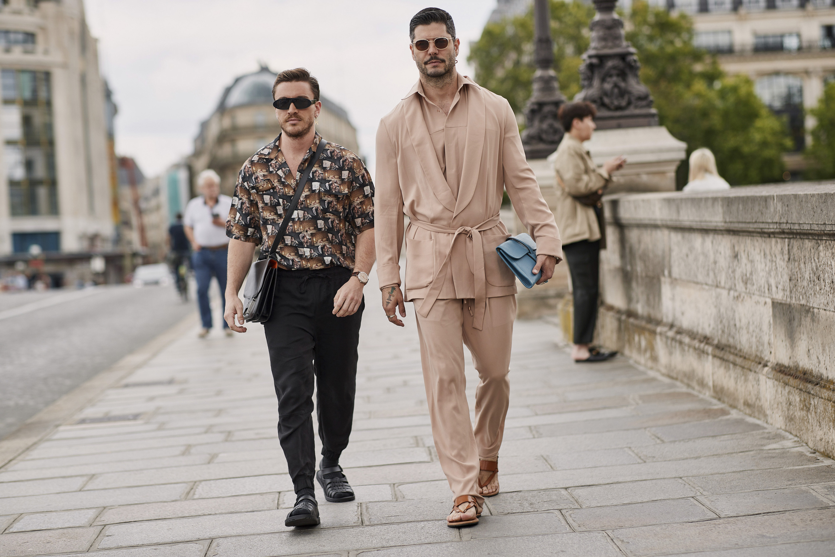 Paris Men's Street Style Spring 2020 Day