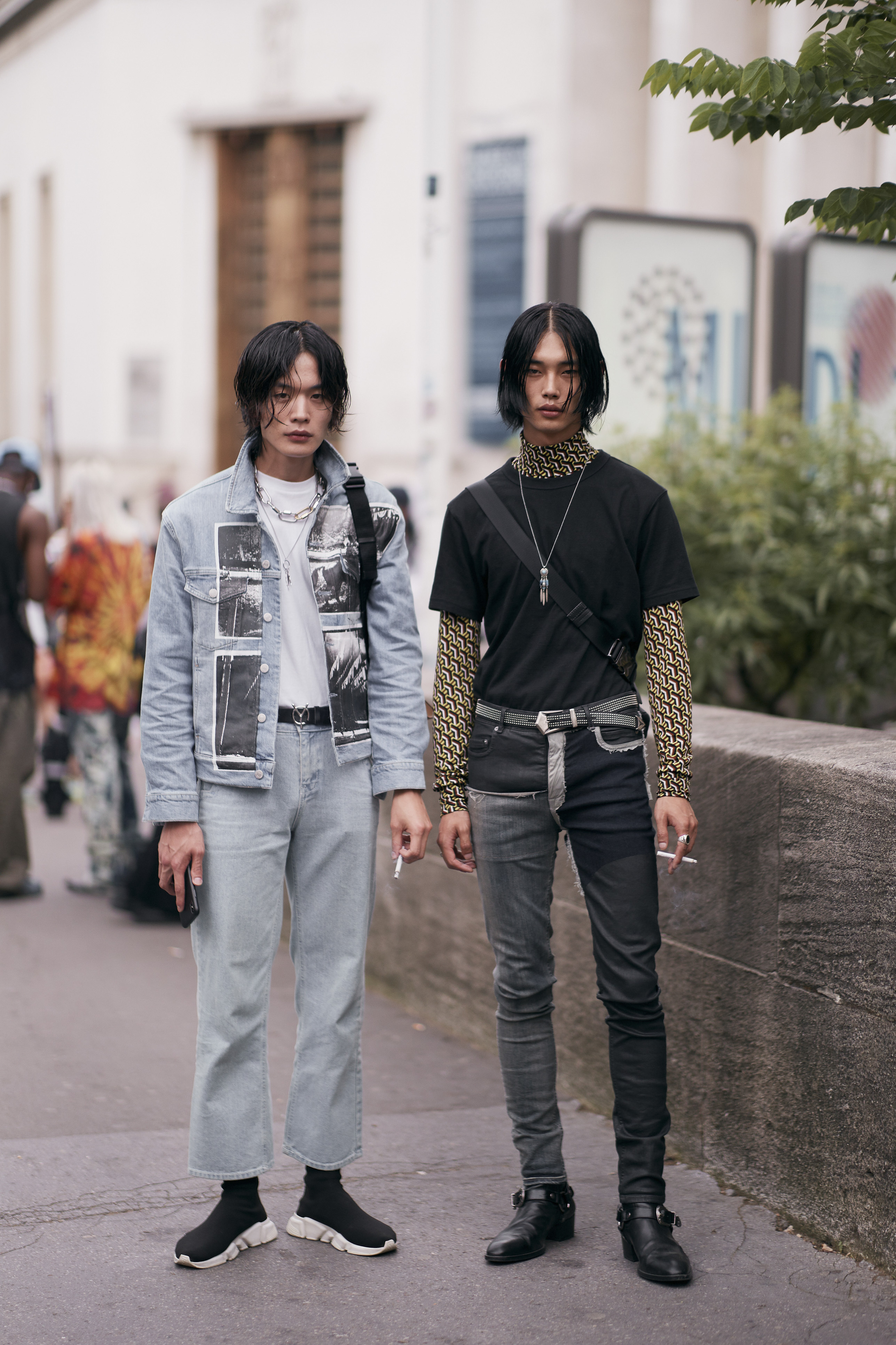 Paris Men's Street Style Spring 2020 More from Day1