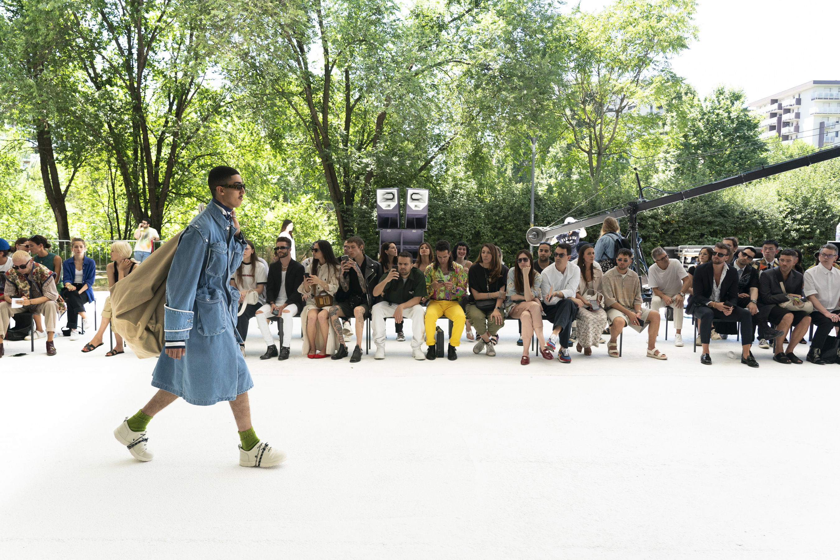 Sunnei Spring 2020 Men's Fashion Show Atmosphere