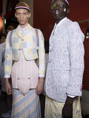 Thom Browne Spring 2020 Men's Fashion Show Backstage