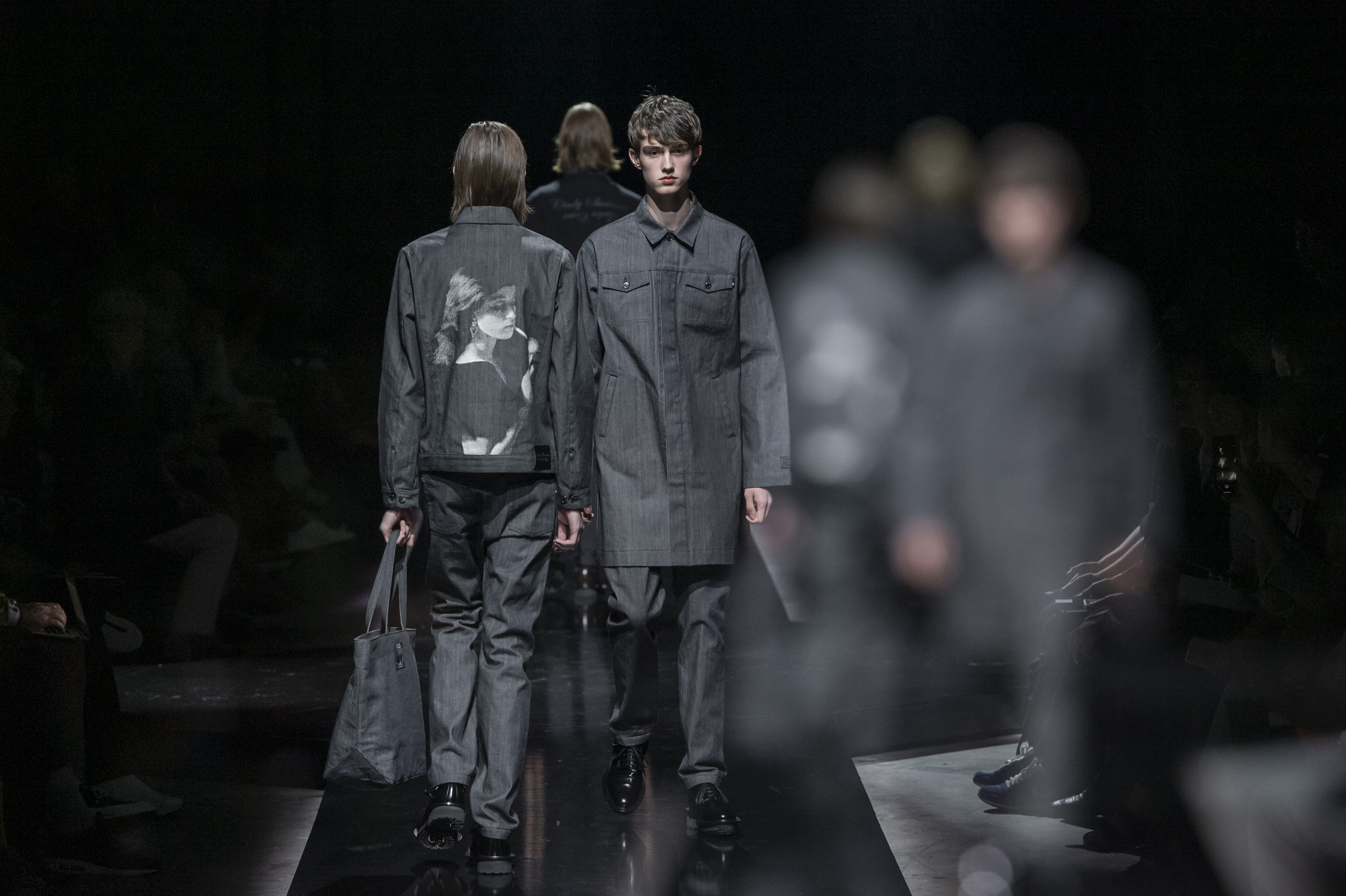 Undercover Spring 2020 Men's Fashion Show Atmosphere