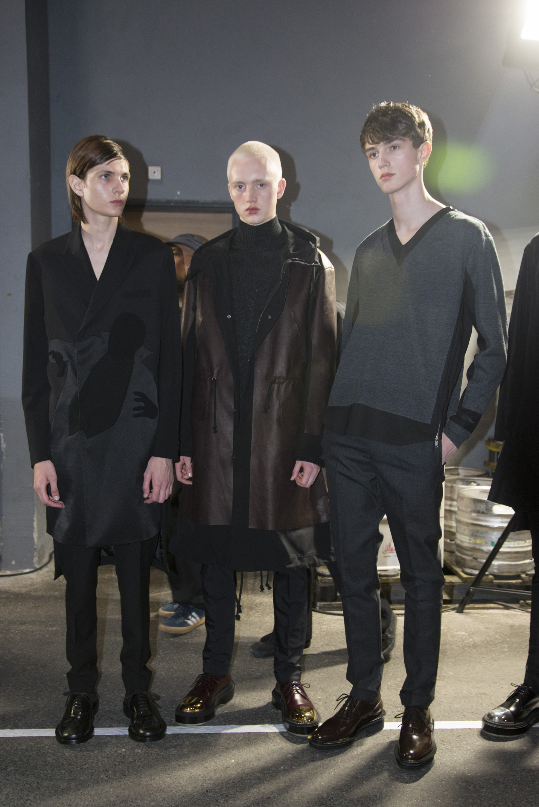 Undercover Spring 2020 Men's Fashion Show Backstage