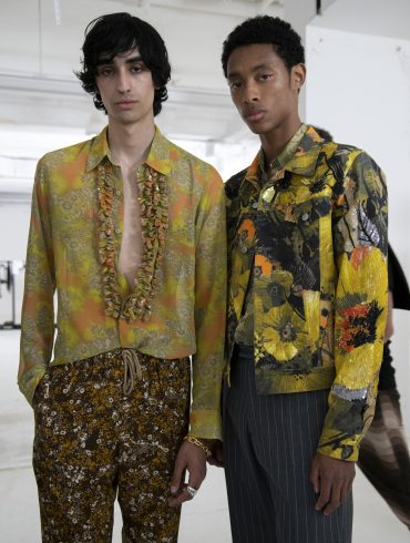 Dries Van Noten Spring 2020 Men's Fashion Show Backstage