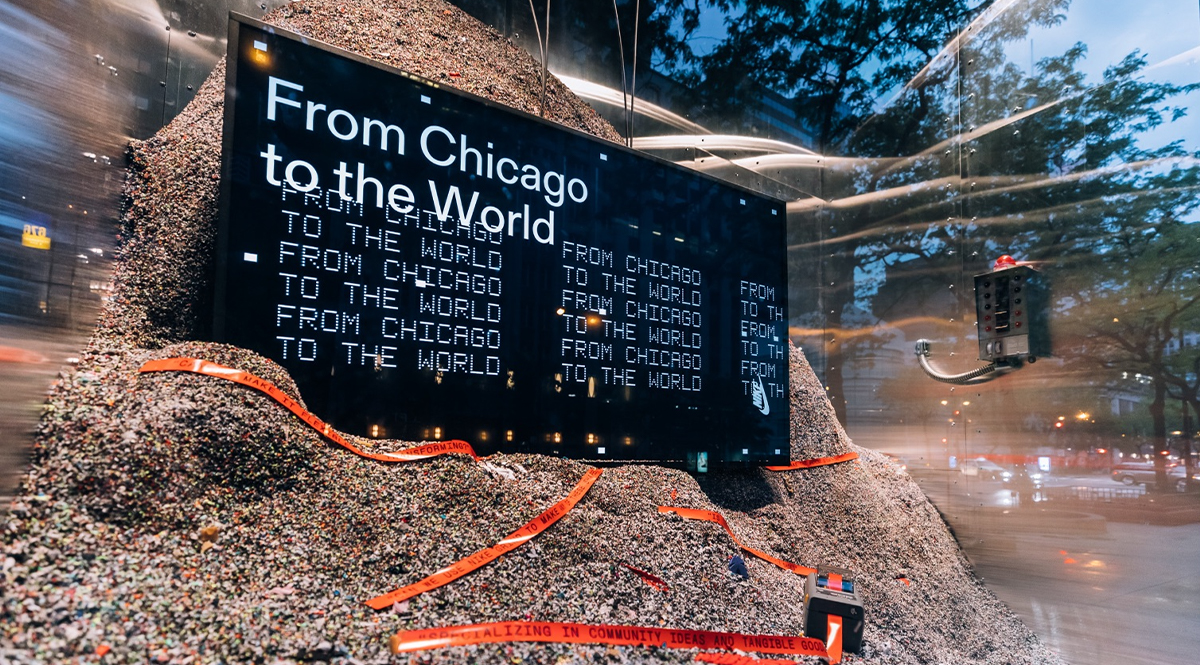 Virgil Abloh X Nike unveil creative summer residency in Chicago