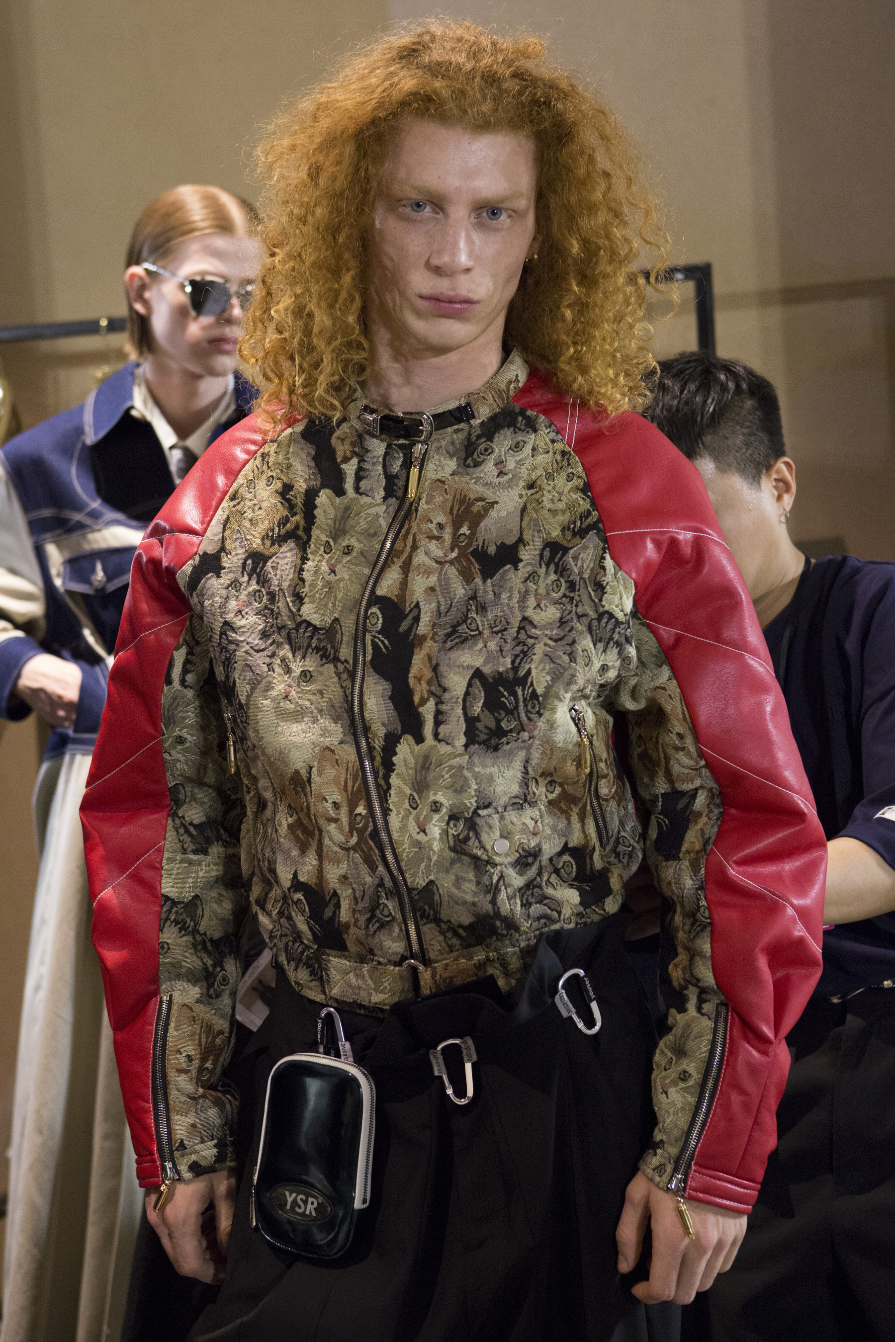 Youser Spring 2020 Men's Fashion Show Backstage