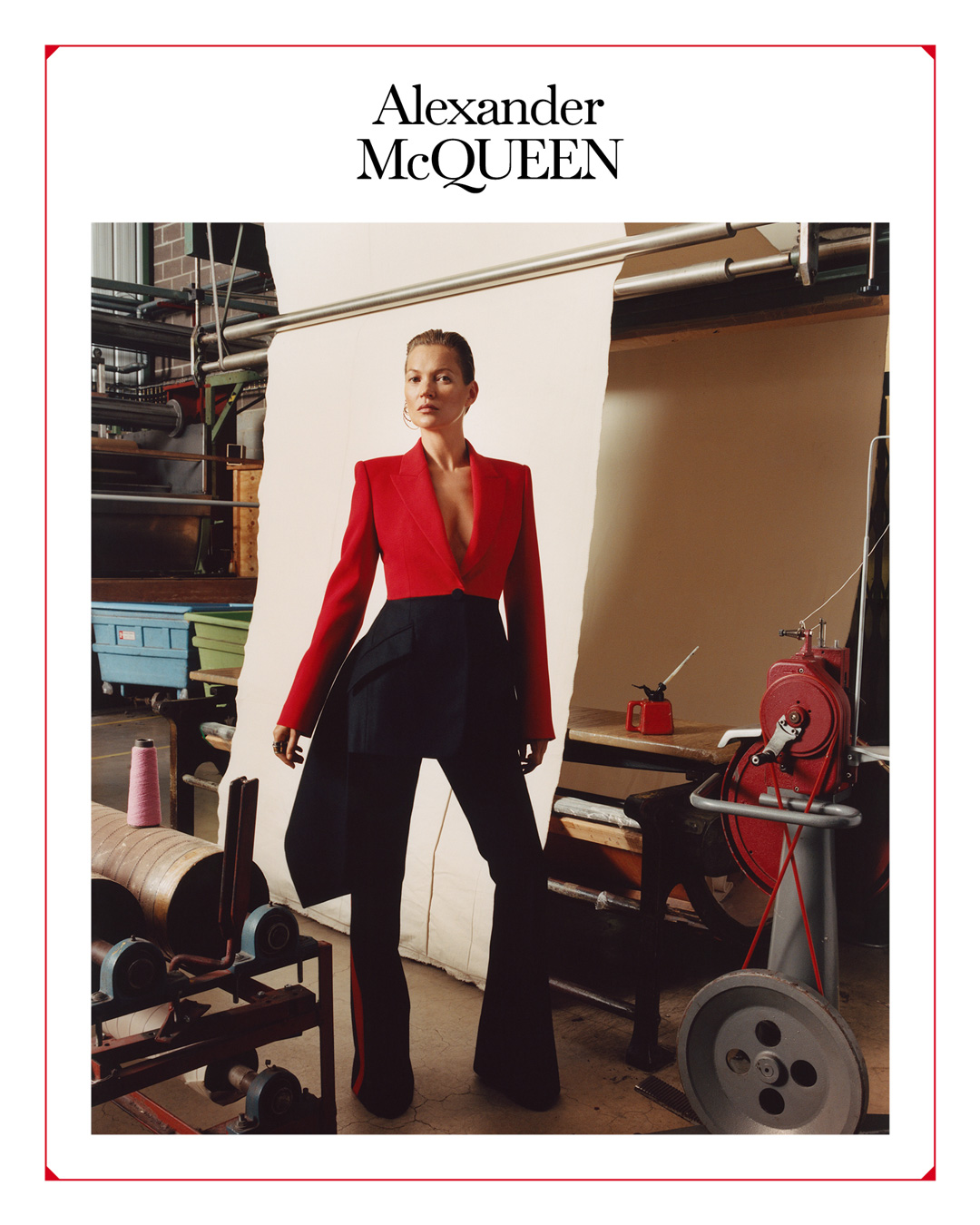 Alexander McQueen Fall 2019 Ad Campaign with Kate Moss