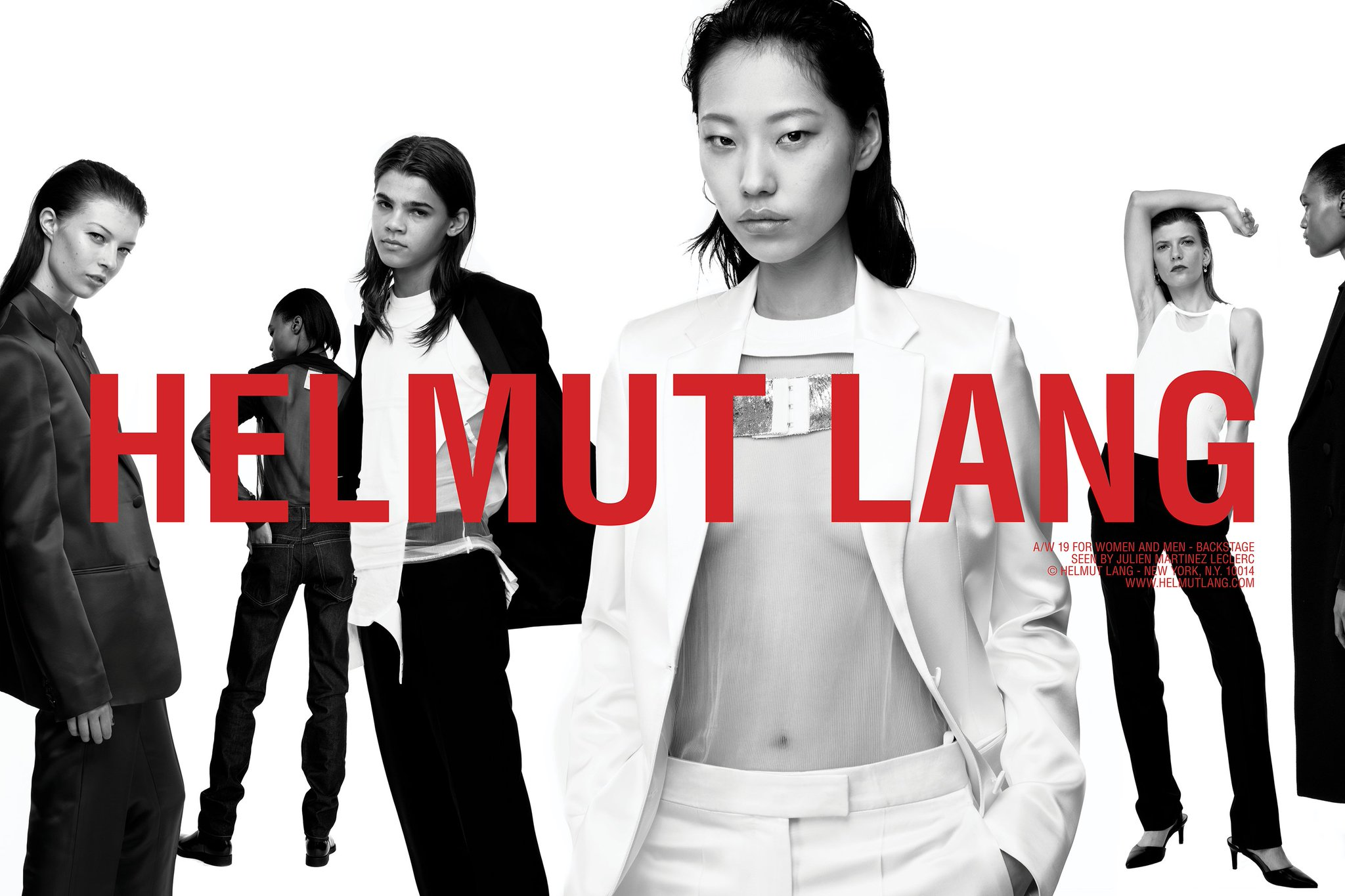Helmut Lang Fall 2019 Ad Campaign