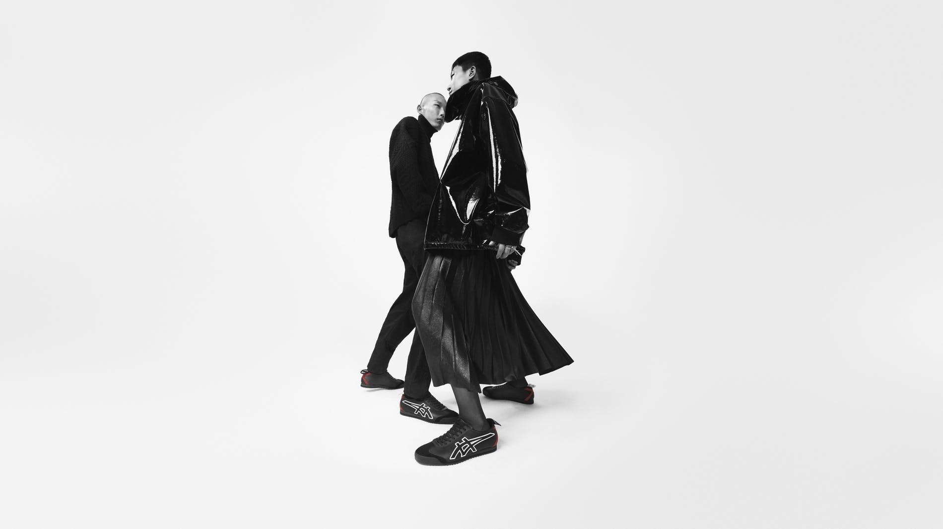 Givenchy X Onitsuka Tiger Fall 2019 Ad Campaign by Sam Rock