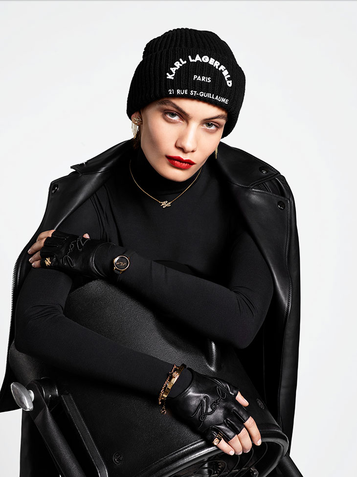Karl Lagerfeld Fall 2019 Ad Campaign