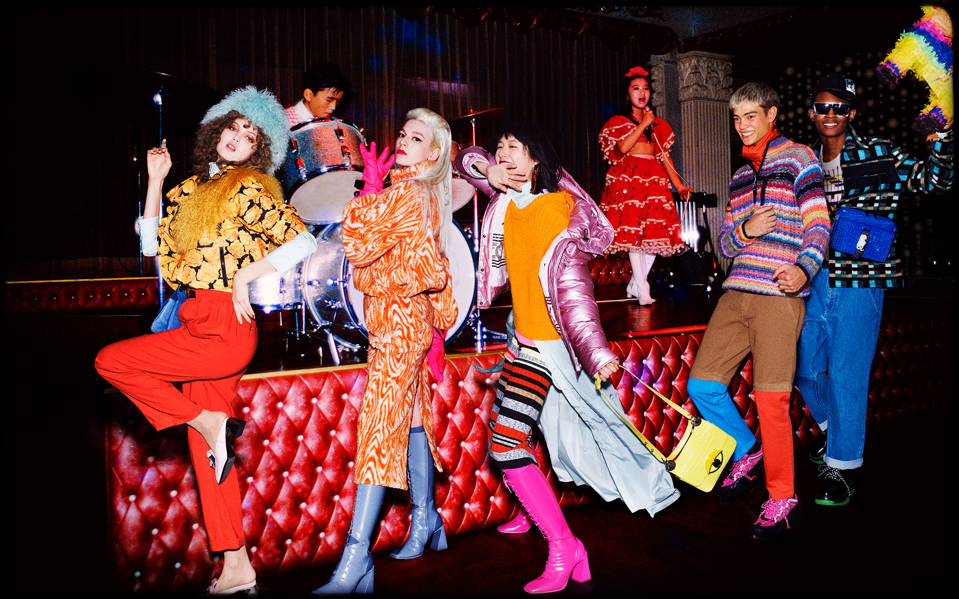Kenzo Fall 2019 Ad Campaign by David LaChapelle